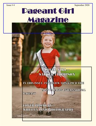 Pageant Girl Magazine Issue 4