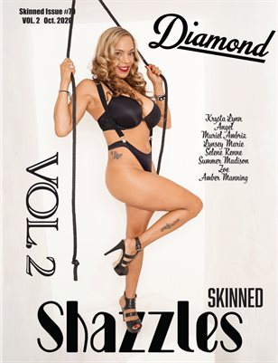 Shazzles Skinned Issue #70 VOL 2 Cover Model Diamond
