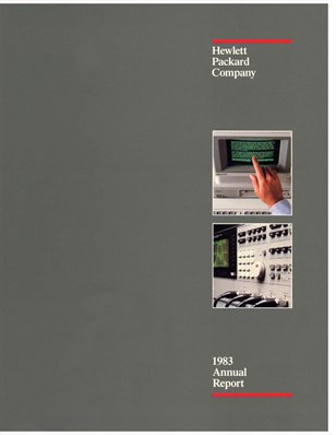 HP Annual Report 1983