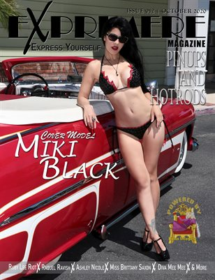 Exprimere Magazine Issue 012 Pinups and Hotrods ft Miki Black