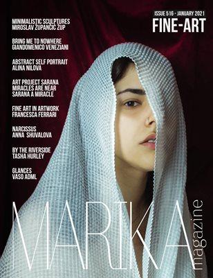 MARIKA MAGAZINE FINE-ART (ISSUE 516 - January)