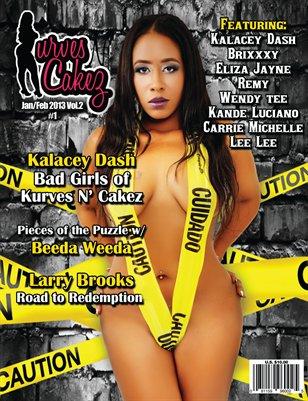 Kurves N' Cakez Magazine