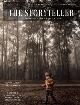 The Storyteller Magazine Issue # 58 OPEN VOL 2