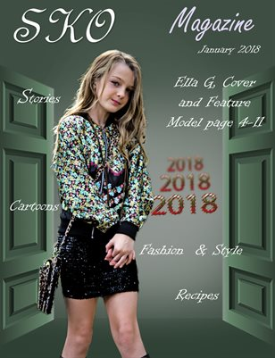 Sko Magazine Child Jan. 2018 Ella
