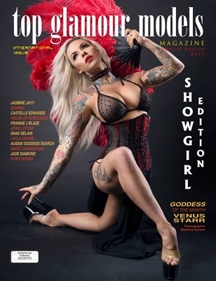 Showgirl Special International Edition Australia's Top Glamour Models Magazine