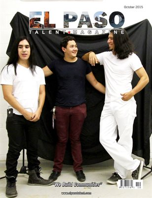 El Paso Talent Magazine October 2015 Edition