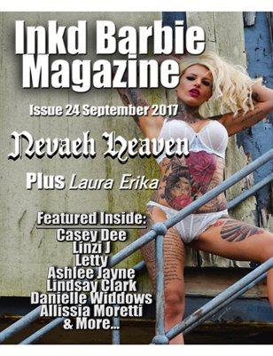 Inkd Barbie Magazine Issue #24 Nevaeh Heaven