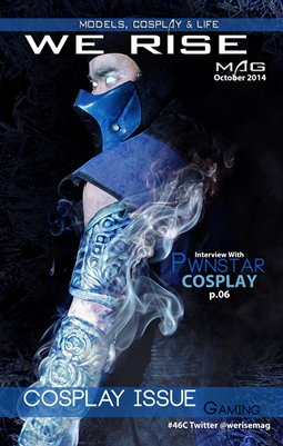 We Rise Mag October 2014 Gaming Cosplay Issue#45C