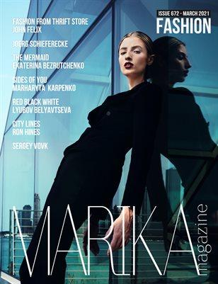 MARIKA MAGAZINE FASHION (ISSUE 672 - MARCH)