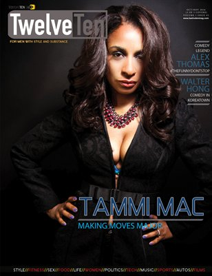 TWELVETEN MAGAZINE OCT/NOV 2016 VOL.1#5 - TAMMI MAC (3 OF 3 COVERS)