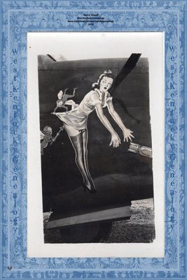 WORLD WAR 2 AIRCRAFT NOSE ART, CARL HAMILTON COLLECTION10