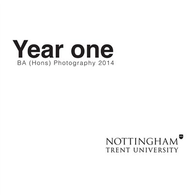 Year one BA (Hons) Photography 2014 NTU