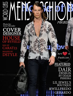 World Class Mens Fashion Magazine with House of Byfield LAFW 2017