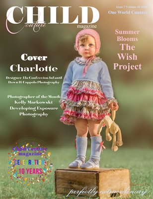 Child Couture magazine Issue 7 Volume 10 2020 One World Couture