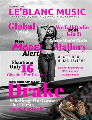 Le'Blanc Music Mag Vol.5-Mallory