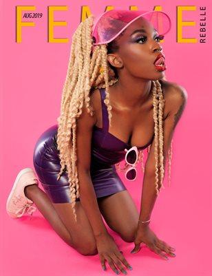 Femme Rebelle Magazine Aug 2019 BOOK 2 - Twelvepence Cover