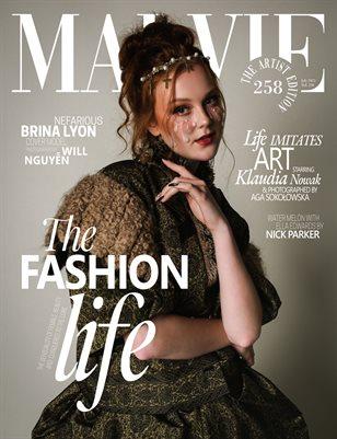 MALVIE Magazine The Artist Edition Vol 258 July 2021