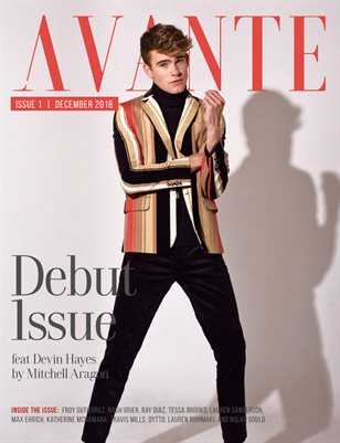 Avante Debut Issue: Devin Hayes Cover
