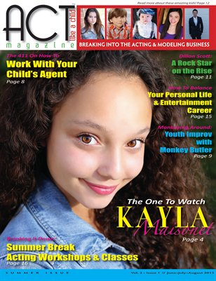ACT Like A Child Magazine Issue 5