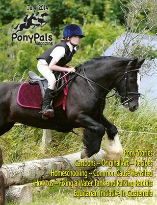 July 2014 Pony Pals Magazine -- Vol. 4 #2