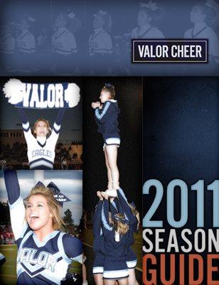 2011-2012 Cheer Season Guide
