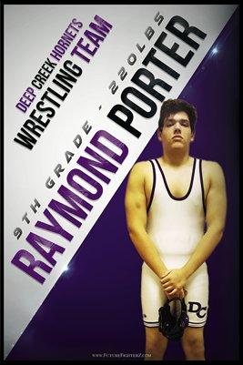 Raymond Porter DC #1 Poster