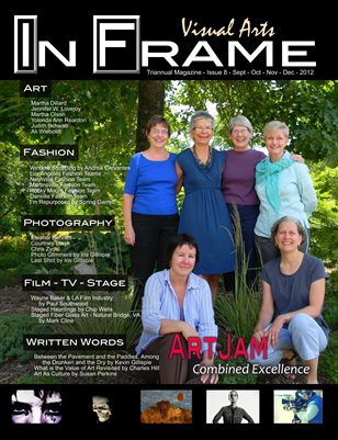 In Frame Visual Arts Issue 8 Sept - Oct - Nov - Dec 2012