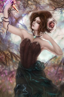 Midnight Floret