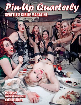 Pin-up Quarterly, Seattle's Girlie Magazine issue #5