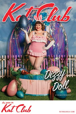 Kat Club No.16 – Dizzy Doll Cover Poster