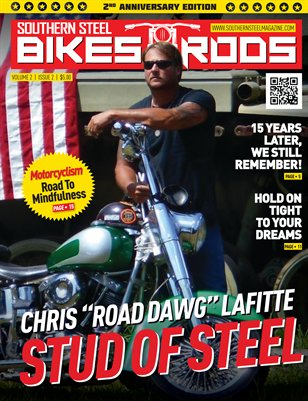 Southern Steel Bikes~n~Rods 2nd Anniversary Issue Sept/Oct 2016