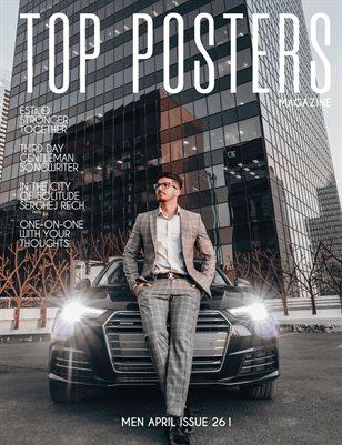 TOP POSTERS MAGAZINE- MEN APRIL (Vol 261)