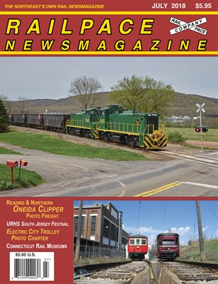 2018-07 JULY 2018 Railpace Newsmagazine