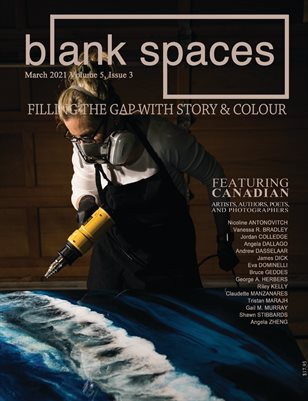 Blank Spaces March 2021
