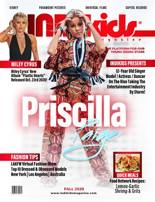 IDK FALL 2020 ISSUE PRISCILLA COVER