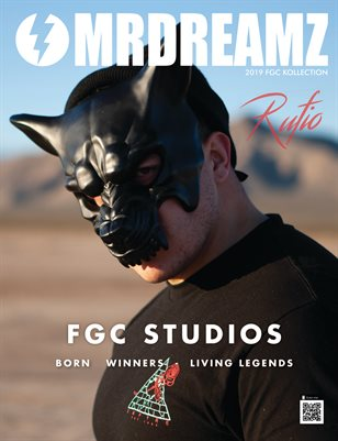 Mr Dreamz magazine 2019 Rufio The Wolf FGC Studios