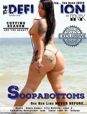TDM:INK Soopabottom Cover: Oct 2018