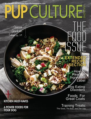 Pup Culture Magazine—March/April '13—Food Issue