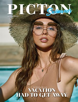 Picton Magazine AUGUST 2019 Swimwear N213 Cover 3