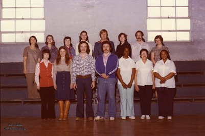 1976-1977 Western School, Hickman, Fulton County, Kentucky