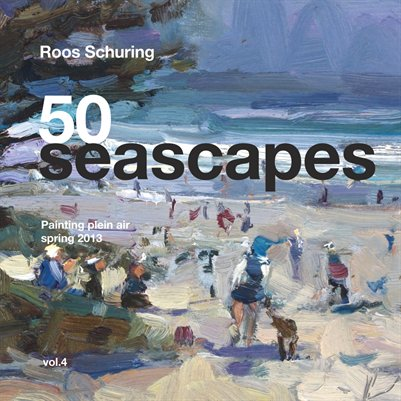 "ROOS SCHURING ""50 Seascapes"" Vol.4 spring Paintings 2013"
