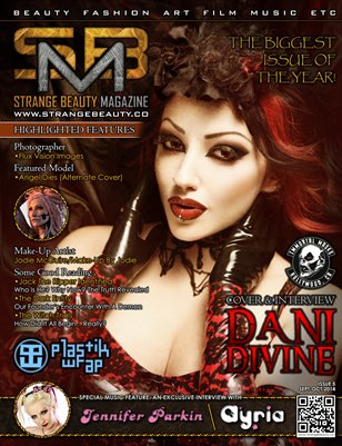 Strange Beauty Magazine #5 (Halloween 2014/Cover 1)
