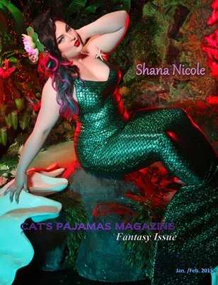 Cat's Pajamas Magazine Fantasy Issue Jan/Feb2015