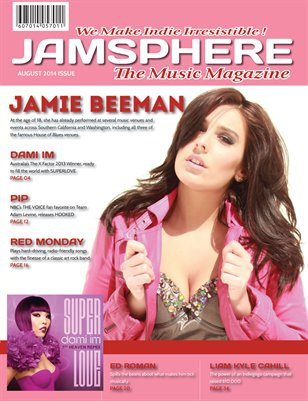 Jamsphere Indie Music Magazine August 2014