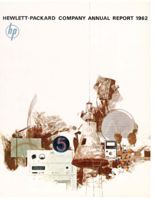 HP Annual Report 1962