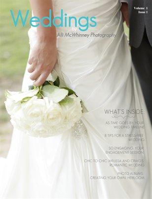 Alli McWhinney Photography Wedding Magazine