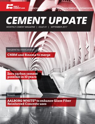 Cement Update - Issue 1 - October 2017