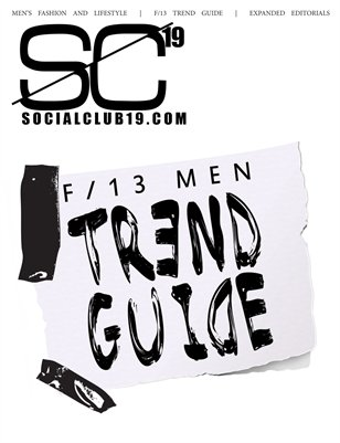Social Club 19 Fall 13 Trend Guide