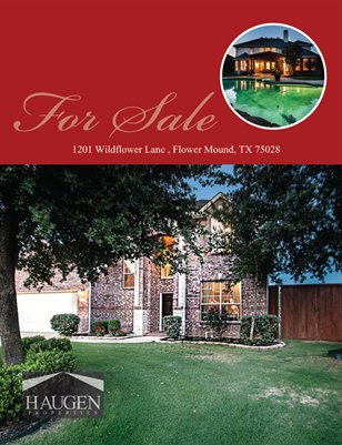 Haugen Properties - 1201 Wildflower Lane, Flower Mound, Texas 75028