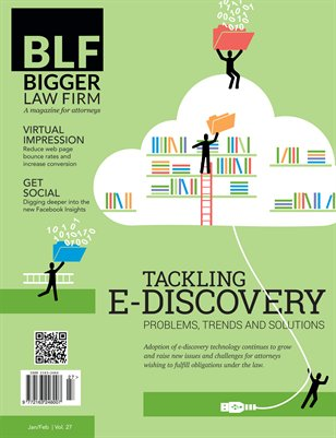 Tackling E-discovery - January / February 2014